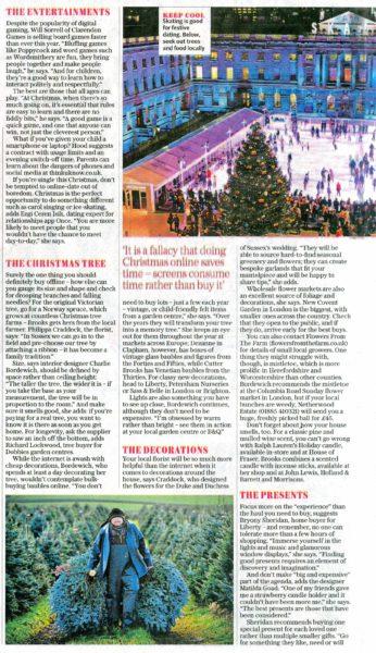 Saturday Telegraph Feature p.1